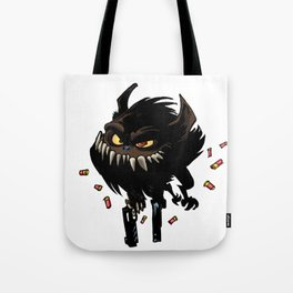 All you need is love... and guns Tote Bag