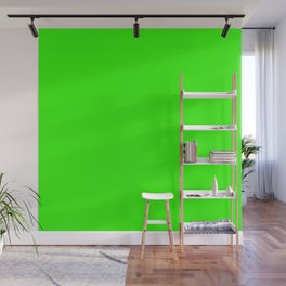 Chroma Key Green Wall Mural