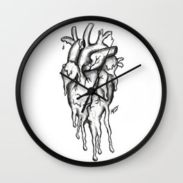 Dying inside Wall Clock