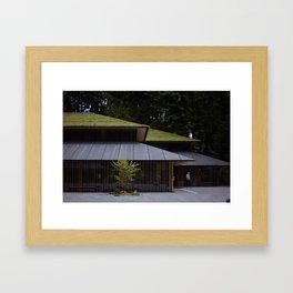Japanese gallery Framed Art Print