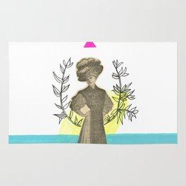 queen of the sea Rug