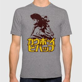 001b Cowboy bebop Red T-shirt