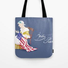 Betsy Ross Perot Tote Bag