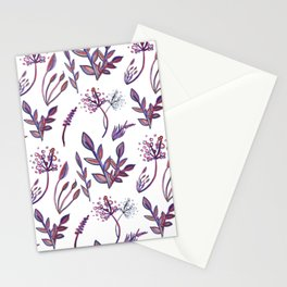 Lovely watercolour naure inspired print Stationery Cards