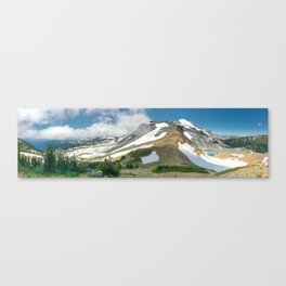 Mount Rainer Wonderland Canvas Print