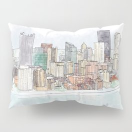 Pittsburgh Panorama Pillow Sham