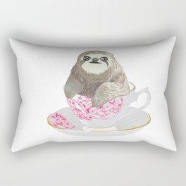 Cuppa Sloth Rectangular Pillow