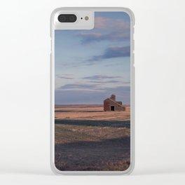Grain Elevator 21 Clear iPhone Case