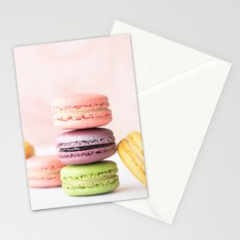 Macarons Sweet Pastel Stationery Cards