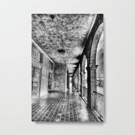 The Portico Metal Print