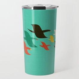Birds are flying Travel Mug