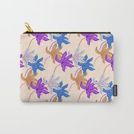 colourful autumn leaves Carry-All Pouch