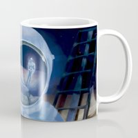 watchmen Mugs featuring Watchmen by WhiteeChess