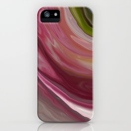 Linnea Flower Abstract iPhone Case