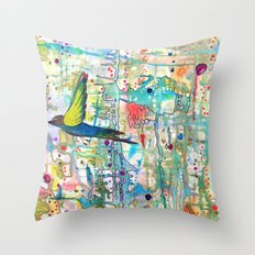 faire surface Throw Pillow