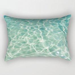 Clear Ocean Water Rectangular Pillow