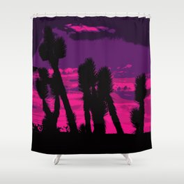 Joshua Sunset Shower Curtain