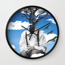 Exhausted Wall Clock