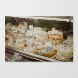 Say Cheese Canvas Print