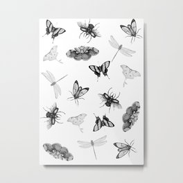 Entomologist Dreams Metal Print
