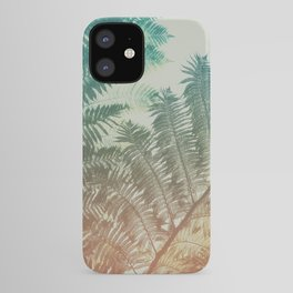 Colorful Fern iPhone Case