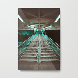 Bart Station Metal Print