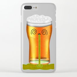 Piss Head Clear iPhone Case