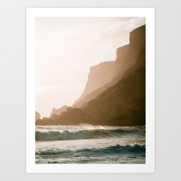 Vik, Iceland - Golden Hour Art Print