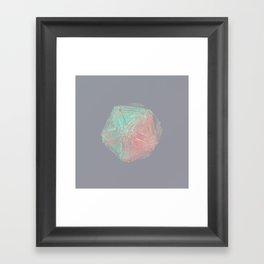 I C O S A Framed Art Print