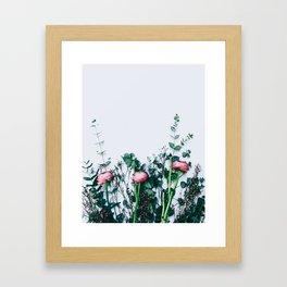Peeking Nature Series Framed Art Print