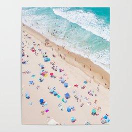 Colors of Manhattan Beach California Poster