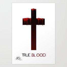 True Blood (THE CROSS) Art Print
