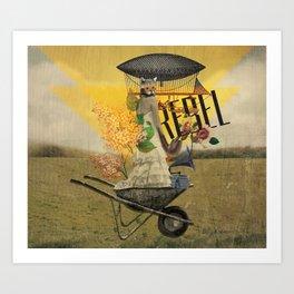Unshackled, Rebel by Lendi Hader Art Print