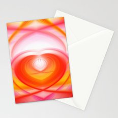 Twirl in Love Stationery Cards
