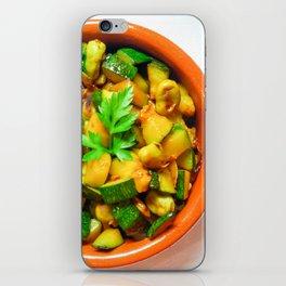 Beans and zucchini salad iPhone Skin