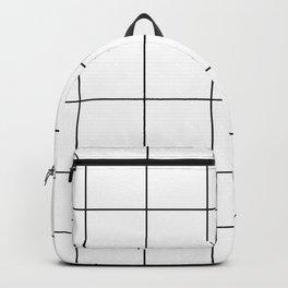 Scandi Grid Sq Y Backpack
