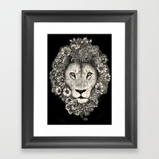 King of Blooms 2 Framed Art Print