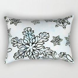 Crystal Structures Rectangular Pillow