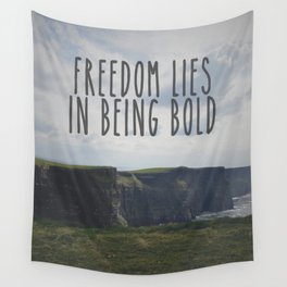 Be Bold. Be Brave. Wall Tapestry
