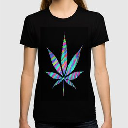 Weed : High Time Colorful Psychedelic T-shirt