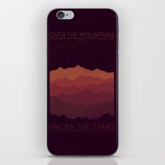 Over The Mountains iPhone Skin