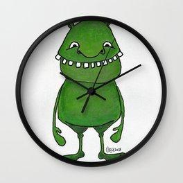 linkodo, flibbity beast Wall Clock