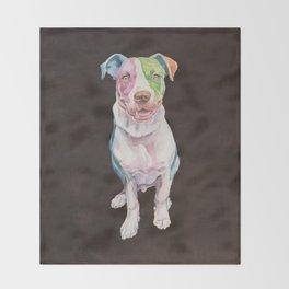 American Bull Terrier Throw Blanket