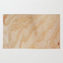 Unique rotary birch yellow wood design Rug