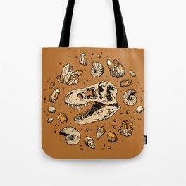 Geo-rex Vortex | Citrine Quartz Tote Bag