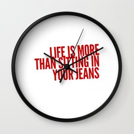 Use Your Life Wall Clock