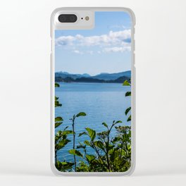 Plant View Clear iPhone Case