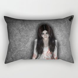 The dark cellar Rectangular Pillow