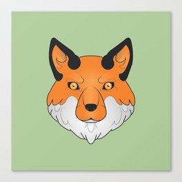 Vulpes Vulpes - Red Fox Canvas Print