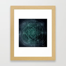Merkabah Orbit Framed Art Print